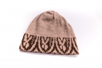 Knit Hat with Design